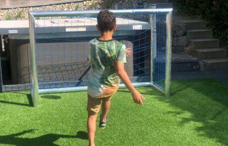 Mini Fussballtor Kunstrasen