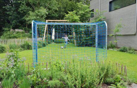 Mini Fussballtor Garten