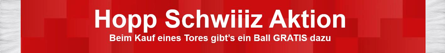 Aktion Hopp Schwiiiz - Mein Fussballtor Aktion