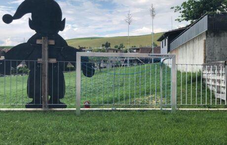 Mini-Fußballtor klappbar transportabel